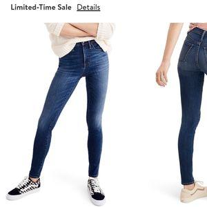 MADEWELL- High-rise Skinny Jeans